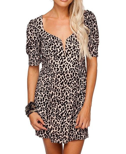 BL Dakota Leopard Dress