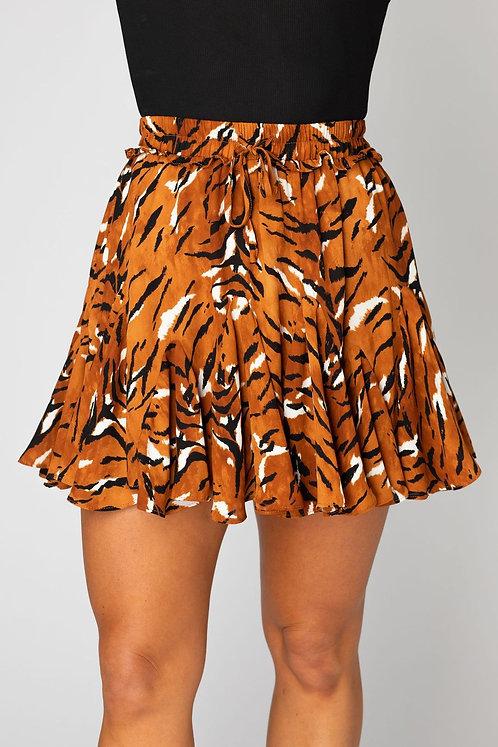 BuddyLove Tiger Print Skirt