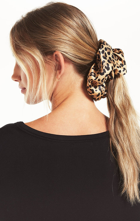 ZS Oversized Leopard Scrunchie