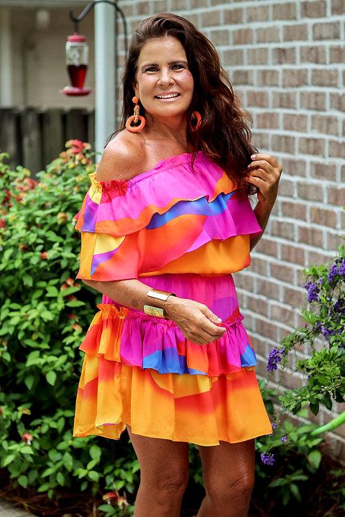 BuddyLove Ruffle Dress