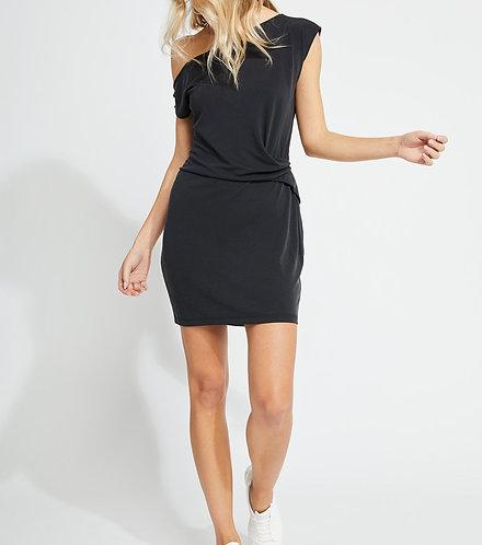 GF Black 1 Shoulder Dress