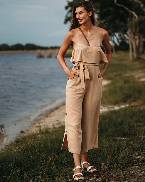 Taupe Jumpsuit