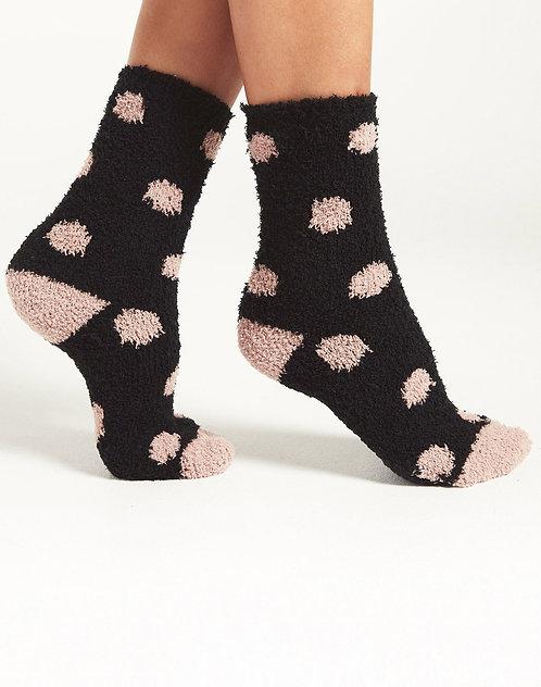 ZS Dot Plush Socks