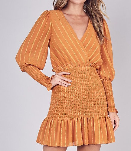 Topaz Smocked Dress