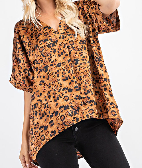 Leopard High Low Top