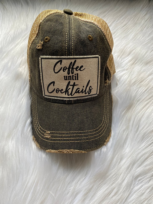Coffee Until Cocktails Hat