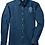 Thumbnail: Ladies Denim Button Shirt