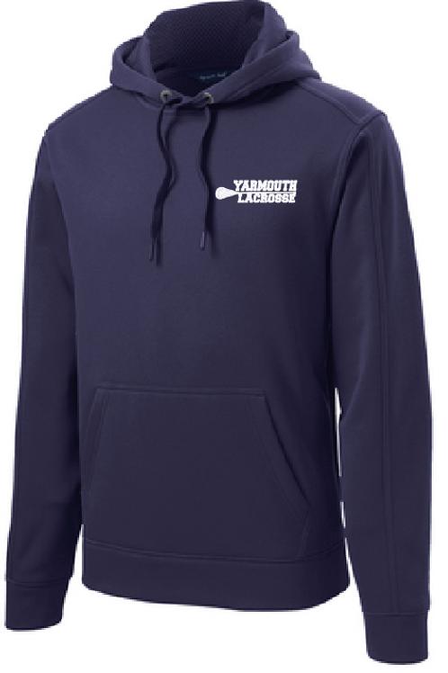 Sport Tek Repel Hooded Sweatshirt