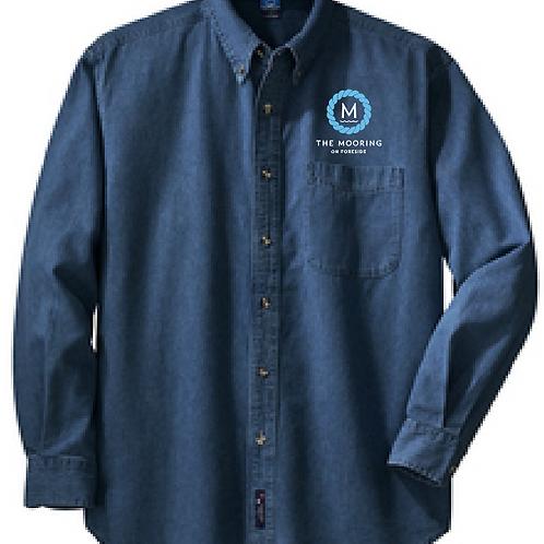 Unisex Denim Button Shirt