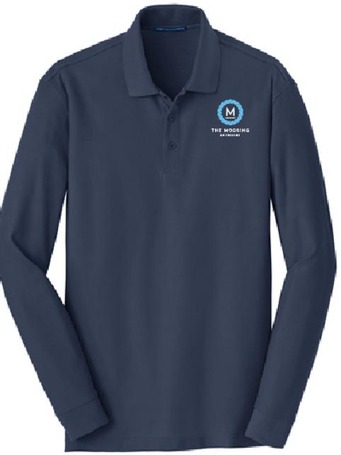 Unisex Long Sleeve Polo