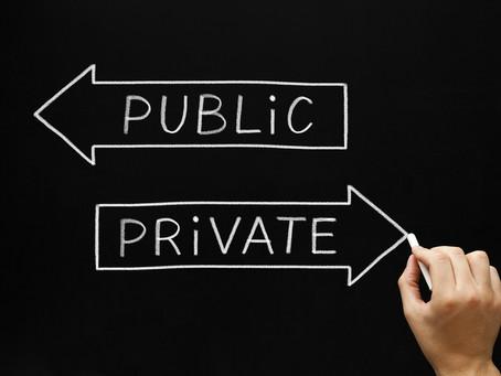 O que é privado e público? O Facebook sabe!