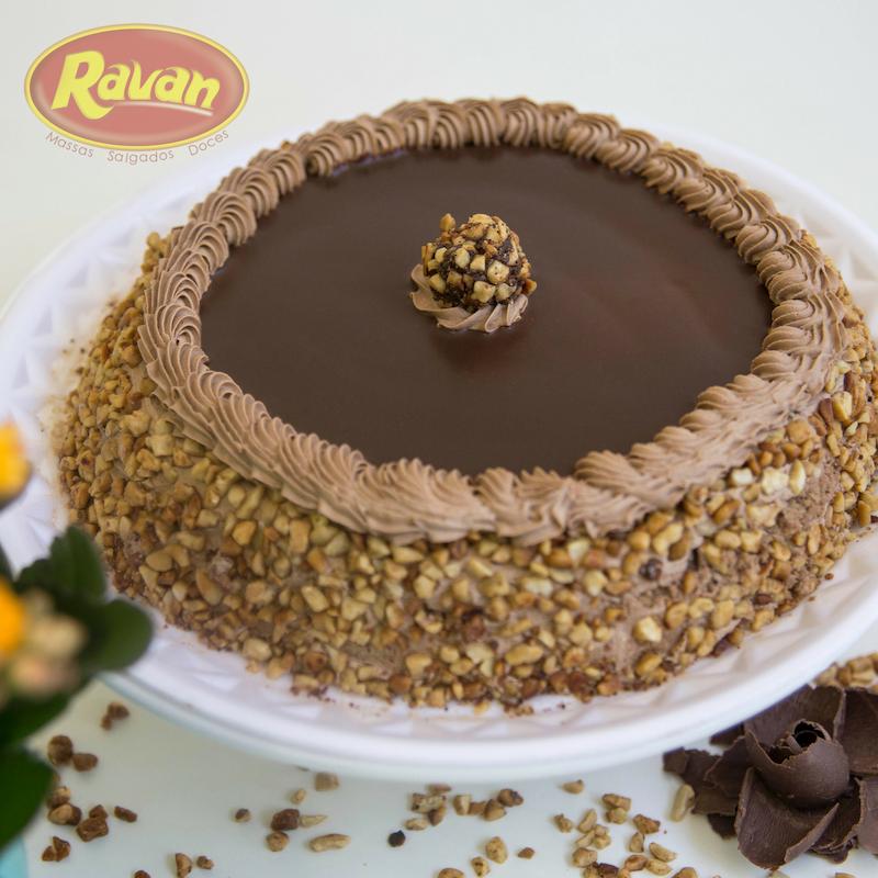 Bolo Ferrero Rocher