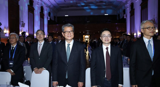 The University of Hong Kong x Tencent Finance Academy (Hong Kong) MOU Signing Ceremony and High Table Dinner
