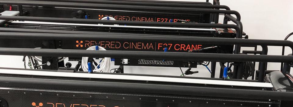 F27 Telescopic Camera Crane