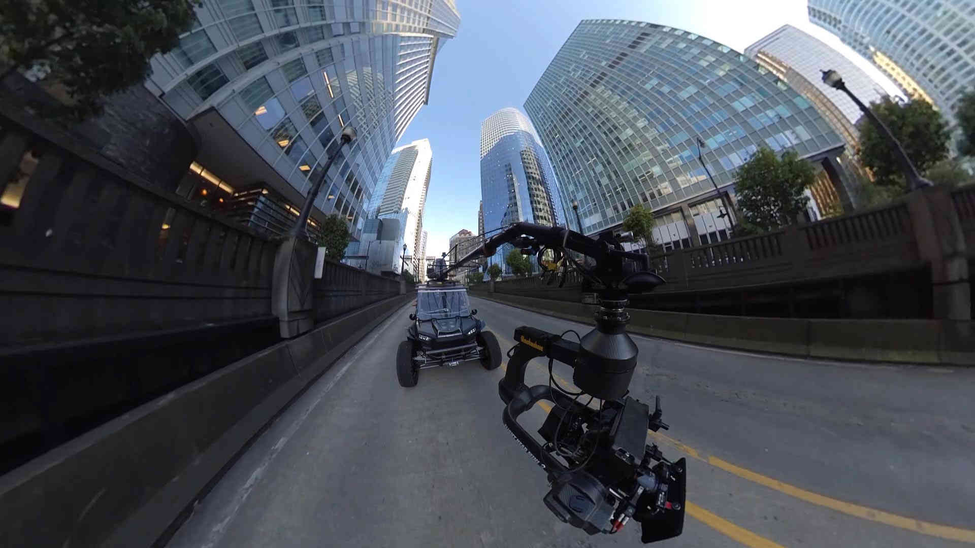 RZR 4x4 Downtown Vancouver