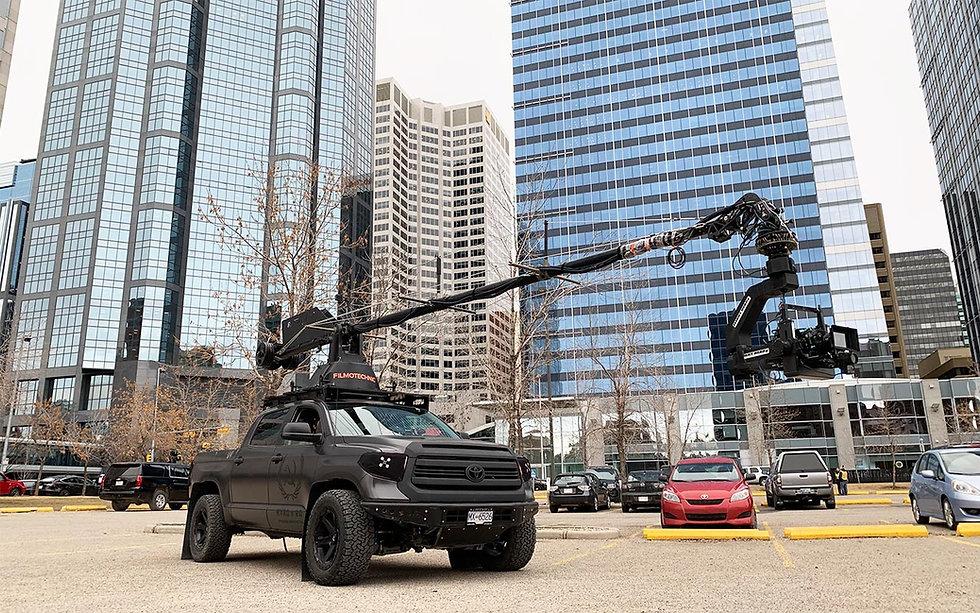 Russian Arm Tundra Camera Truck