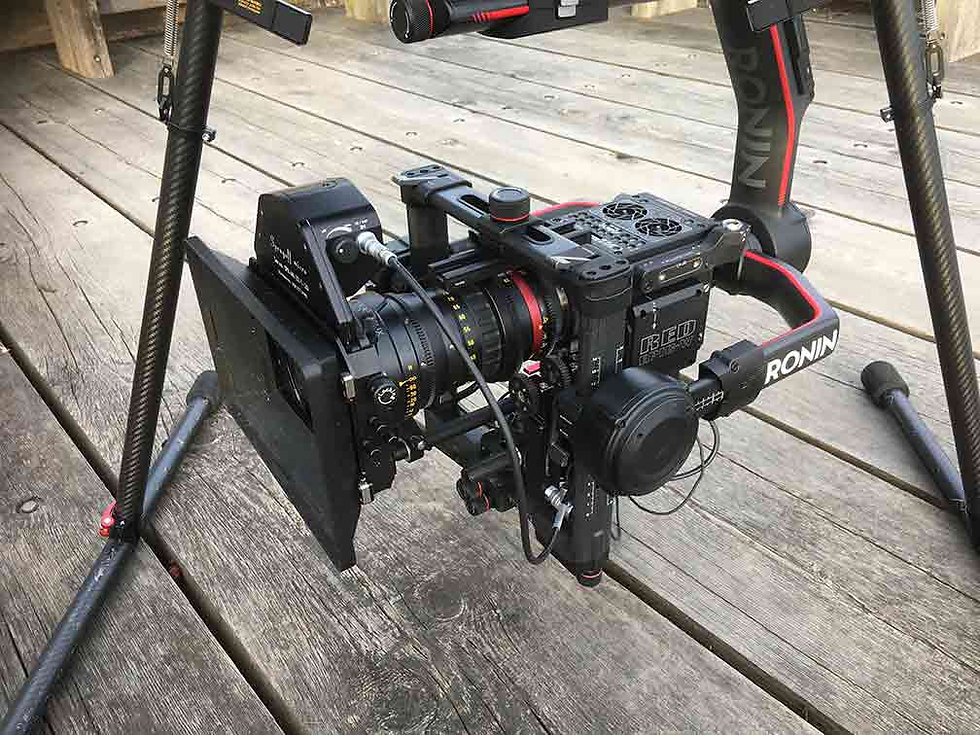 DJI Ronin 2 gimbal with RED Epic camera
