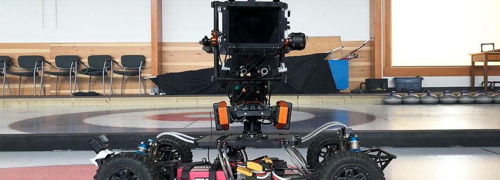 Camera RC Car - Curling