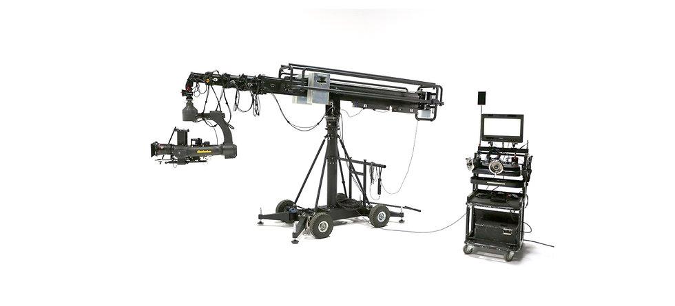 Telescopic Camera Crane rentals - Vancouver camera crane rentals