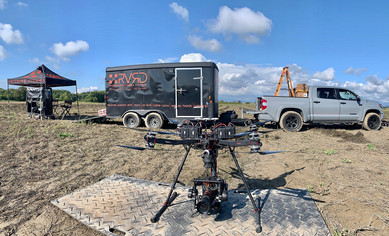 Trailer and Drone BTS