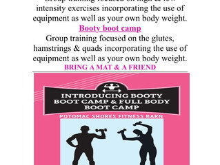 BOOT CAMP!!!!!!!!!! COME & GET IT!