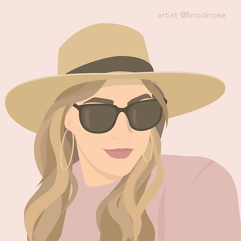 Custom Illustration - 1 face