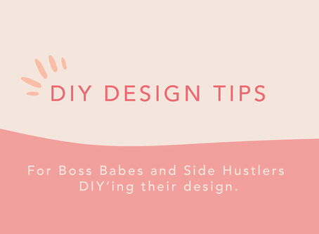 DIY Design tips