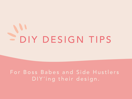 DIY Design tips