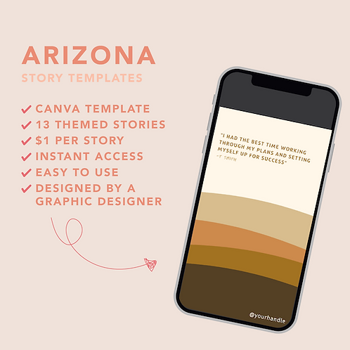 Arizona Story Template