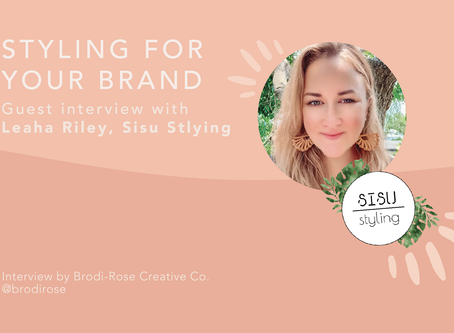 Styling for your brand