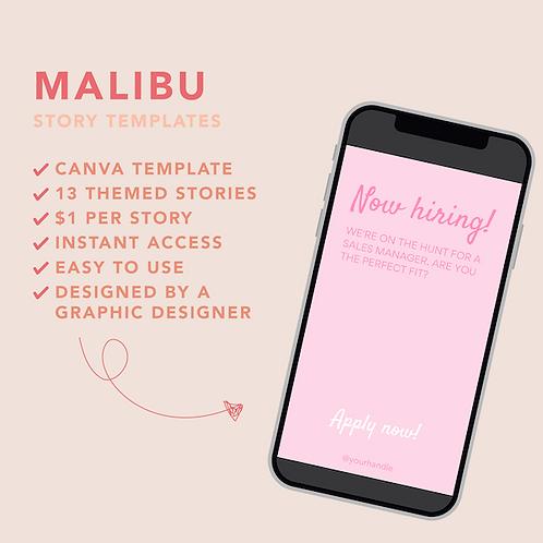 Malibu Story Template