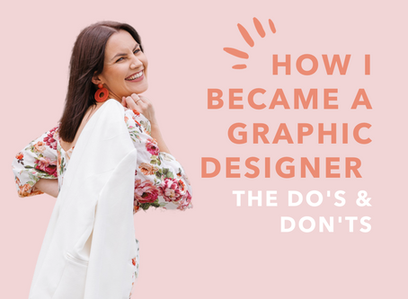 How I Became A Graphic Designer