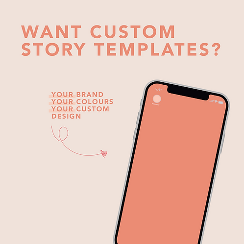 Custom Canva Story Templates