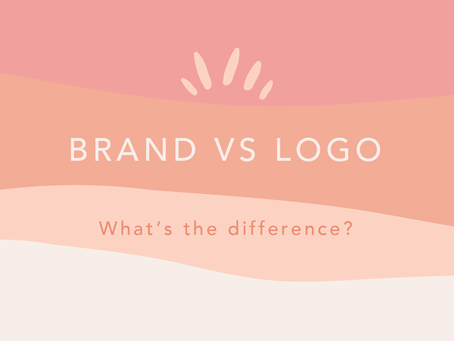 What's the difference between a brand vs logo