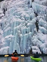 Diablo Lake Winter Paddle by Kelly McVic