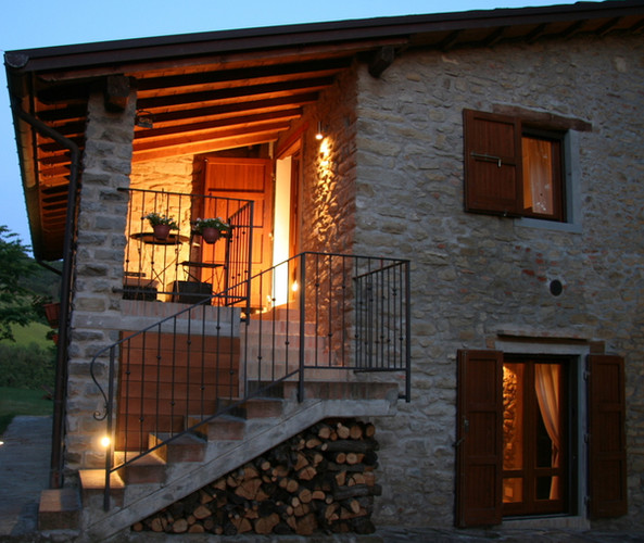 Private veranda view
