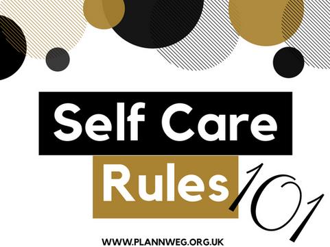 Self Care Rules 101