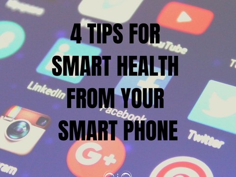 4 tips for smart health from your smart phone