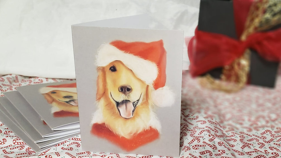 Holiday Pup Cards