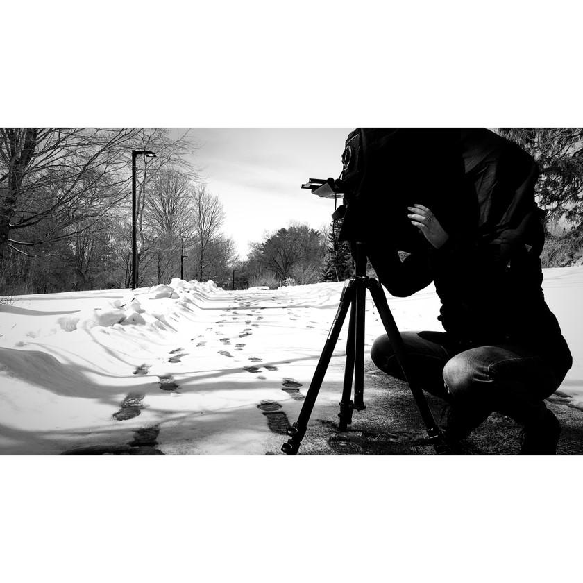 Shooting large format film