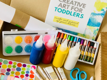Toddler Art Starter Kit