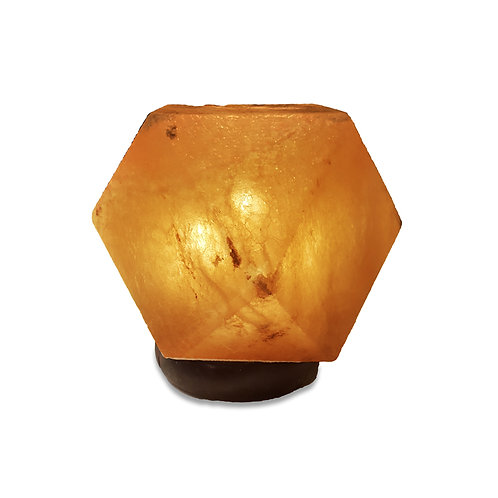 Diamond Shape Pink Salt Lamp