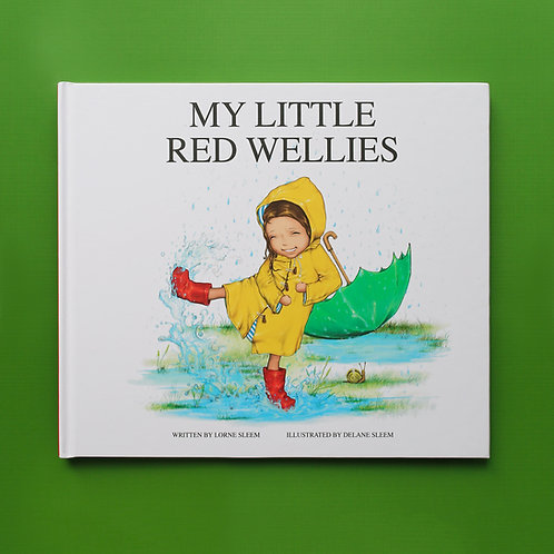 My Little Red Wellies | Book Only