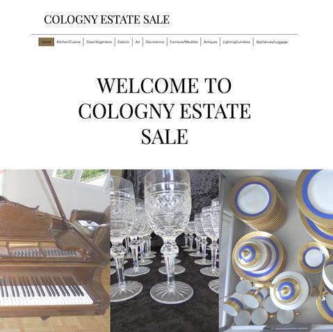 Cologny Estate Sale