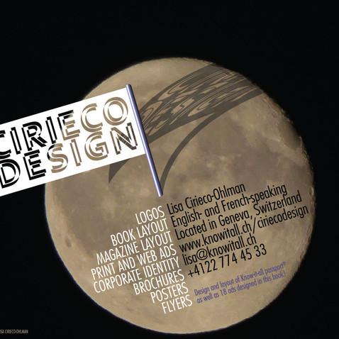 Cirieco Design ad with original photo
