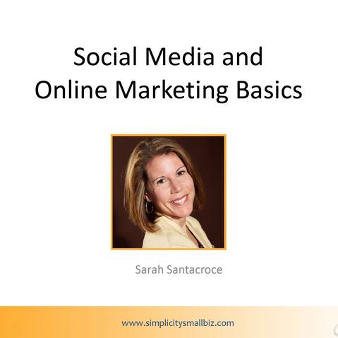 Social Media Basics workshop, February 2015