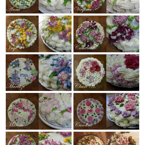 Coffee and Creations April 2018 - Cake Decorating workshop
