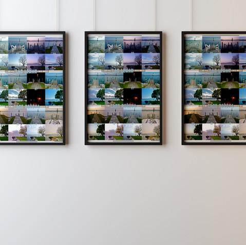 Lake Geneva poster ©Lisa Cirieco-Ohlman 2012