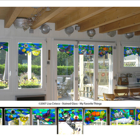 Stained Glass - My Favorite Things ©2007 Lisa Cirieco
