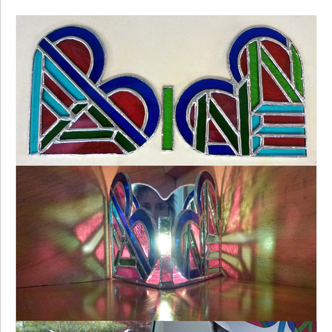 Stained Glass - Fabienne Lamp ©2013 Lisa Cirieco